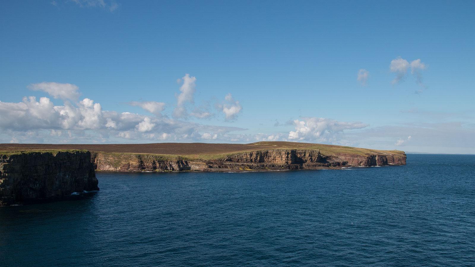 Im Süden und Osten der Orkney Inseln