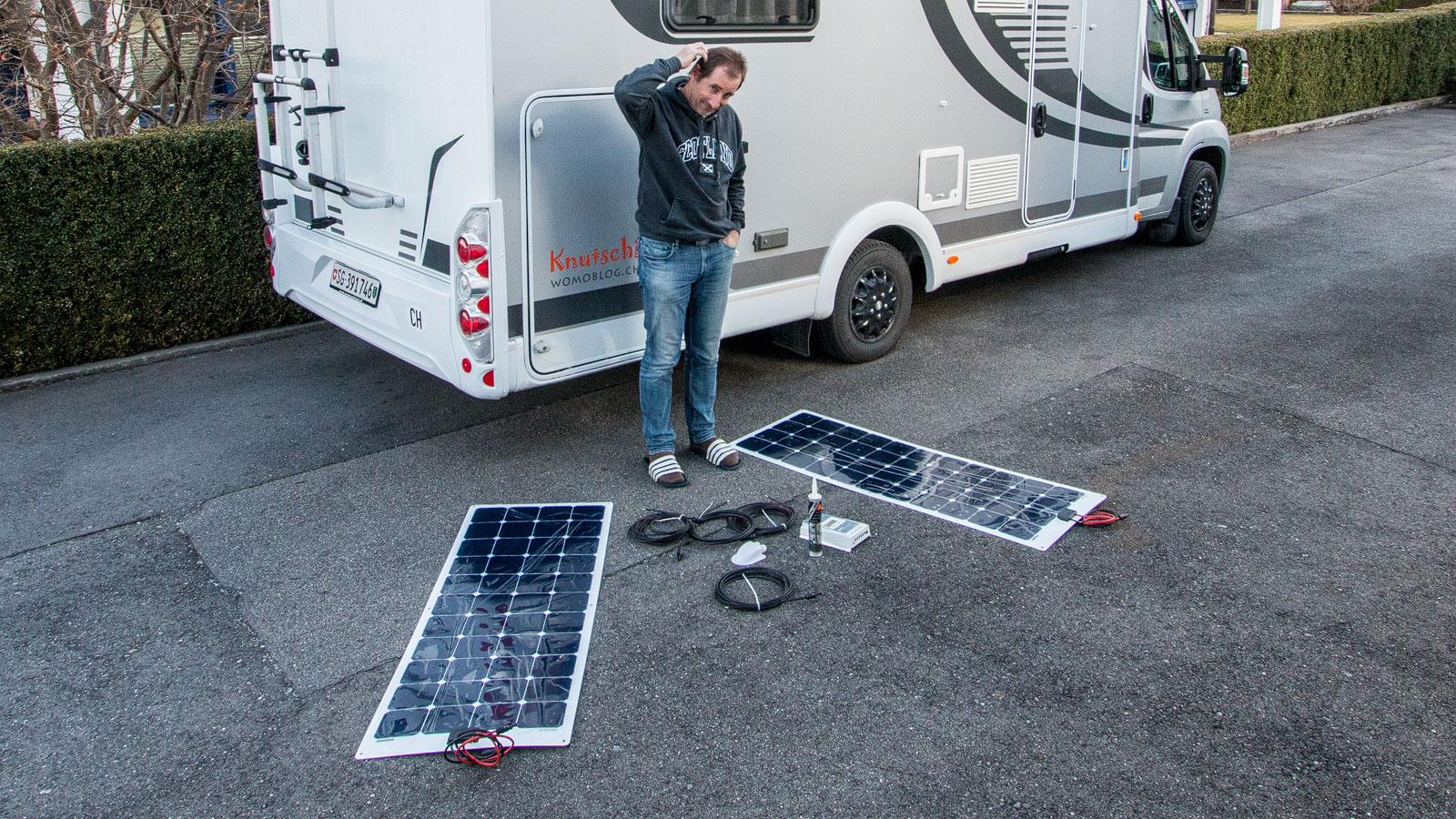 was f r material brauche ich f r eine solaranlage. Black Bedroom Furniture Sets. Home Design Ideas