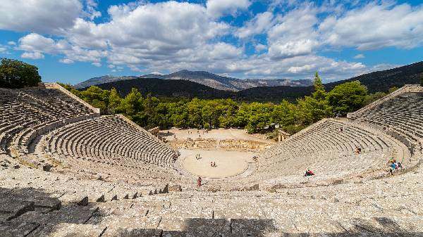 Anikes Theater in Epidaurus